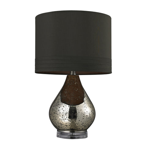 Beautiful Antique Mercury Glass Table Lamp in Gold for your Indoor Lighting.