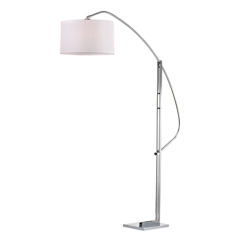 Beautiful Dimond Lighting Assissi Adjustable Floor Lamp in Polished Nickel