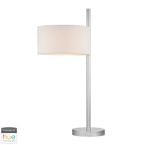 Beautiful Dimond Lighting  Attwood Table Lamp in Polished Nickel - with Philips Hue LED Bulb/Bridge  in  Metal