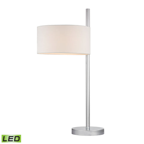 Beautiful Dimond Lighting  Attwood LED Table Lamp in Polished Nickel  in  Metal