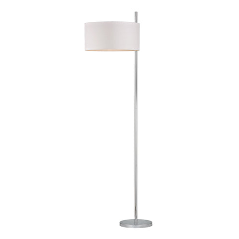Beautiful Attwood Floor Lamp in Polished Nickel for your Indoor Lighting.