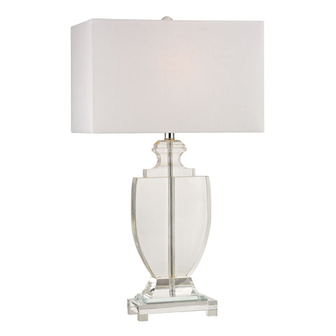 Beautiful Dimond Lighting Avonmead Solid Crystal Table Lamp