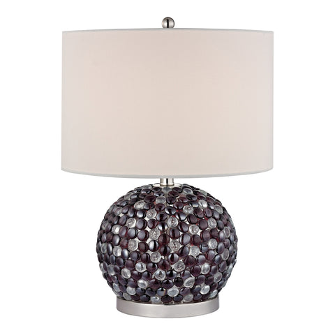 Beautiful Dimond Lighting Amethyst Stone Bejewelled Table Lamp