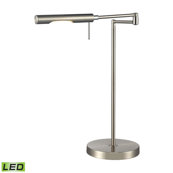 Beautiful Dimond Lighting  5W LED DESK LAMP IN CHROME FINISH  in  Glass, Metal