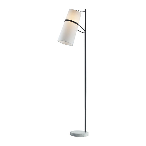 Beautiful Dimond Lighting Banded Shade Floor Lamp