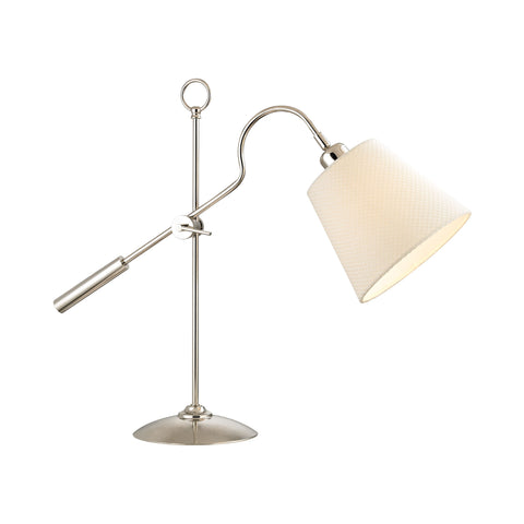 Beautiful Dimond Lighting  Colonial Shaded Desk Lamp  in  Metal