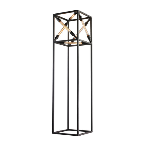 Beautiful Dimond Lighting  Floor Lamp  in  Glass, Metal