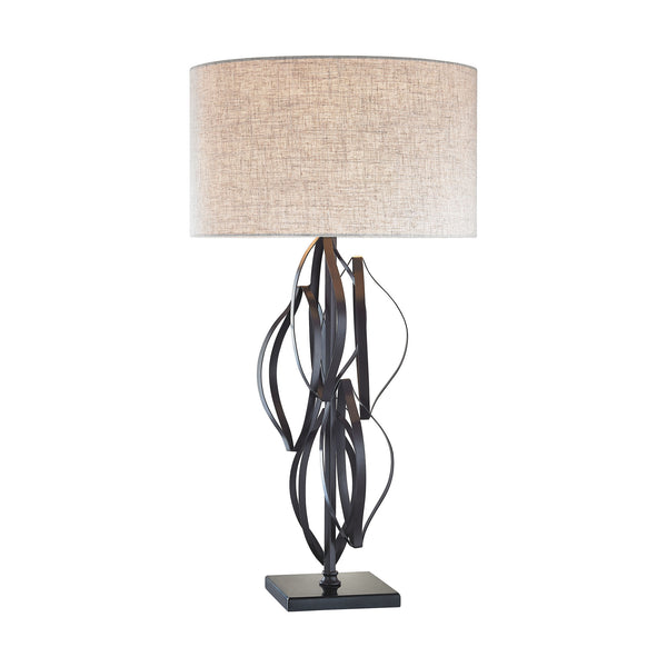 Beautiful Dimond Lighting Felix 1 Light Table Lamp In Bronze