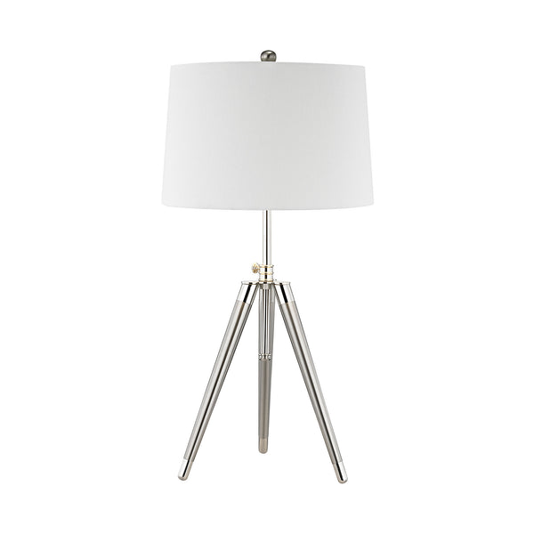 Beautiful Dimond Lighting  Academy Table Lamp  in  Linen, Metal