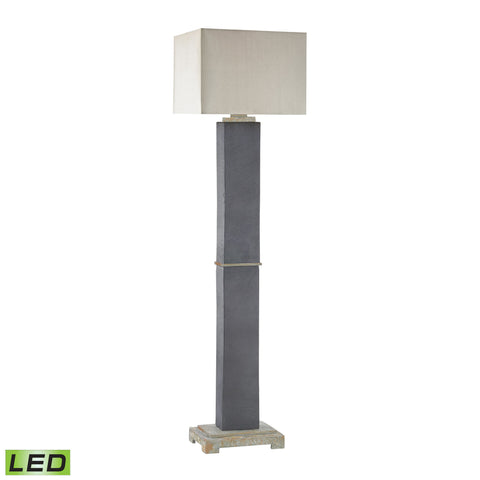 Beautiful Dimond Lighting  Elliot Bay Outdoor LED Floor Lamp  in  Slate, Stone