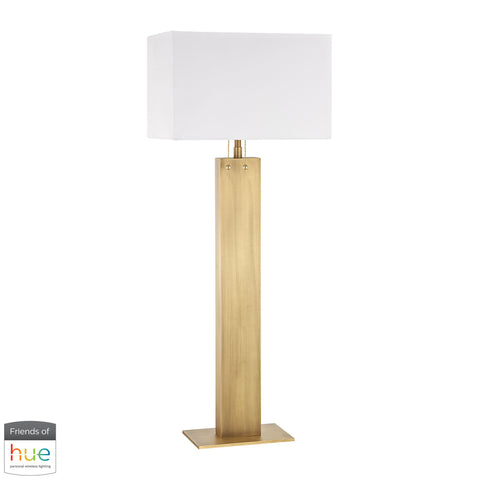 Beautiful Dimond Lighting  Summit Drive Buffet Lamp - with Philips Hue LED Bulb/Bridge  in  Metal