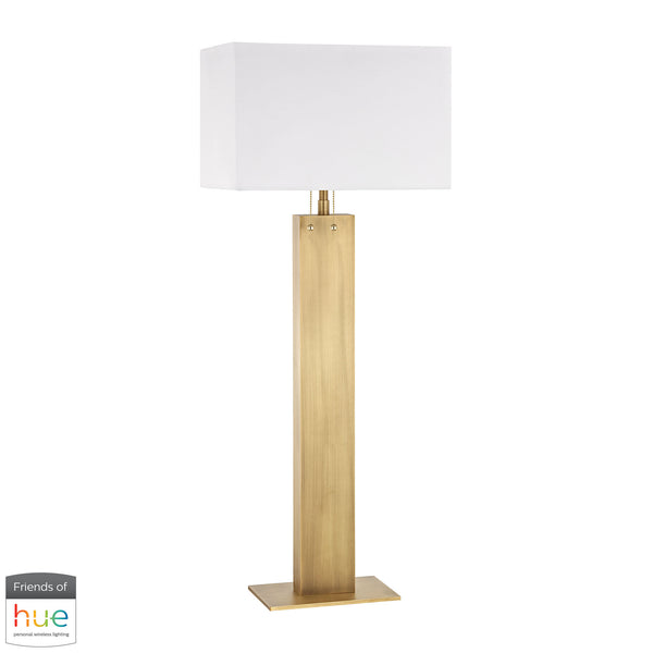 Beautiful Dimond Lighting  Summit Drive Buffet Lamp - with Philips Hue LED Bulb/Dimmer  in  Metal
