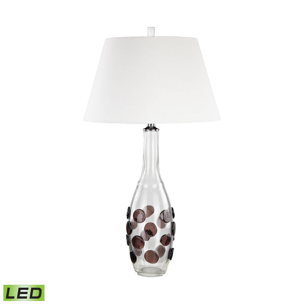 Beautiful Dimond Lighting Confiserie LED Table Lamp Garnet