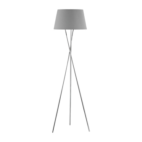 Beautiful Dimond Lighting  Excelsius Floor Lamp  in  Metal, Faux Silk