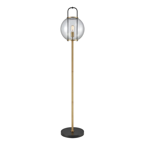 Beautiful Dimond Lighting  Faraday Floor Lamp  in  Glass, Metal