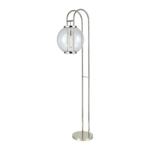 Beautiful Dimond Lighting  GLASS HARDWARE  FLOOR LAMP  in  Glass, Metal