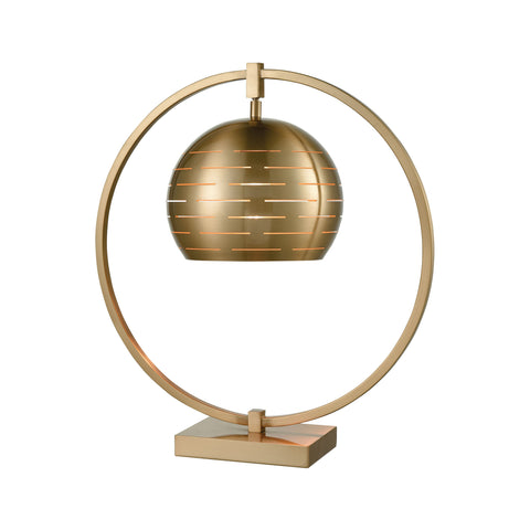 Beautiful Dimond Lighting  Atmospheric Circulation Table Lamp  in  Metal