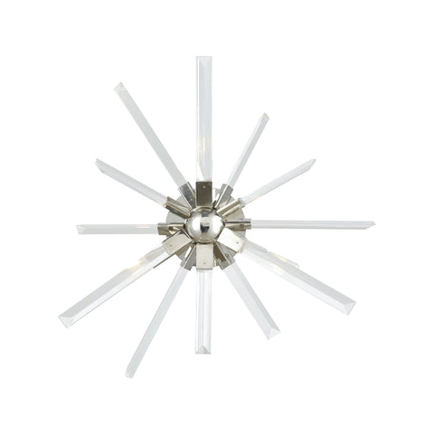 Beautiful Dimond Lighting  Ice Geist Wall Sconce  in  Crystal, Metal