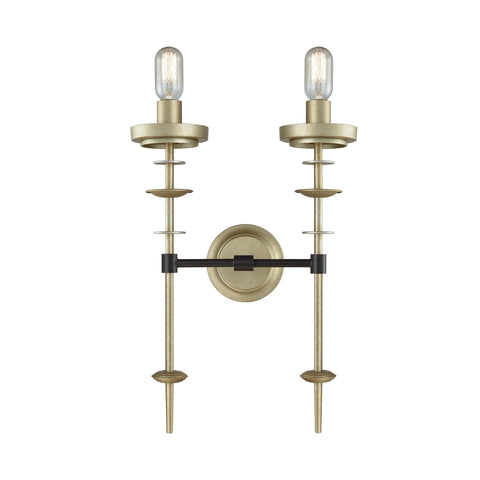 Beautiful Dimond Lighting  Orion Two Light Sconce  in  Metal