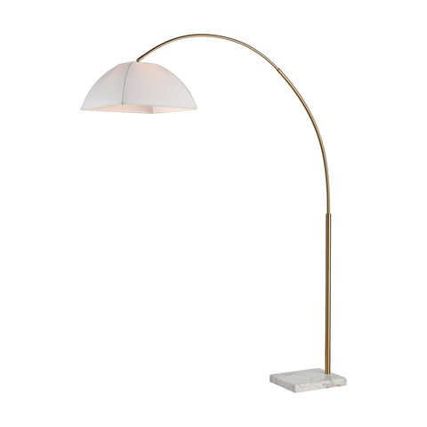 Beautiful Dimond Lighting  Helianthus Floor Lamp  in  METAL, MARBLE