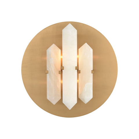 Beautiful Dimond Lighting  Annees Folles Wall Sconce  in  ALABASTER, METAL