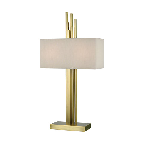 Beautiful Dimond Lighting  Azimuth Table Lamp  in  Metal