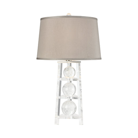 Beautiful Dimond Lighting  A Trois Table Lamp  in  Crystal