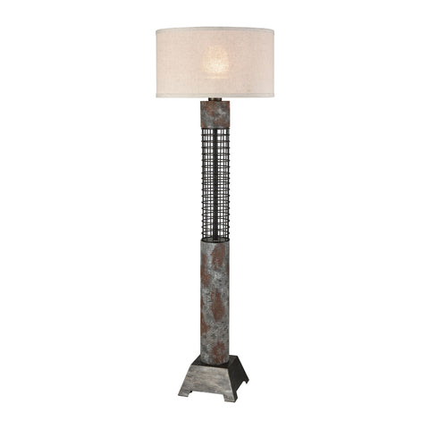Beautiful Dimond Lighting  Gendarme Floor Lamp  in  Concrete, Metal