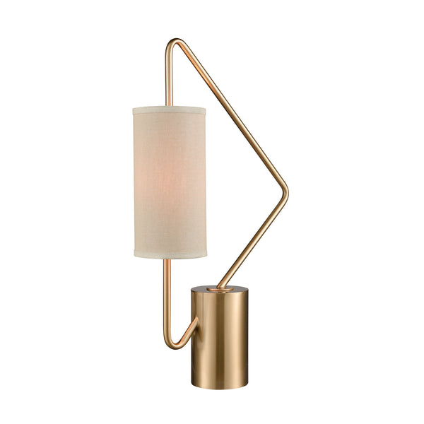Beautiful Dimond Lighting  Akimbo Table Lamp  in  Metal
