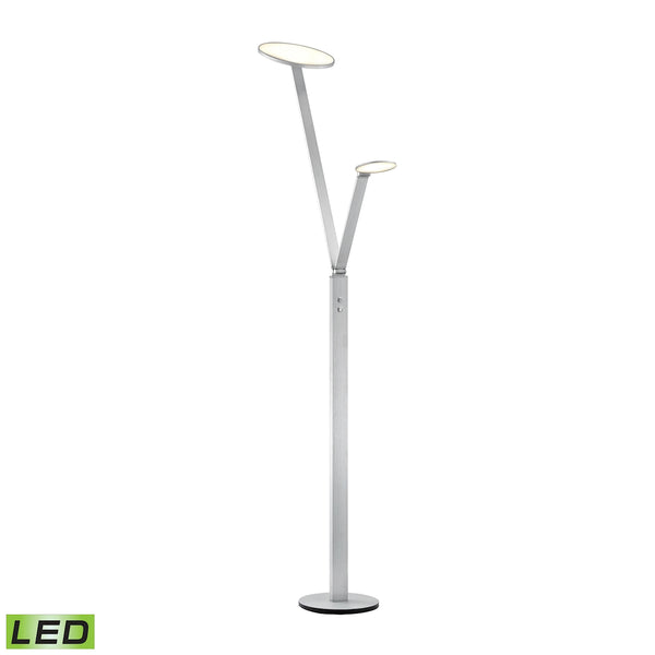 Beautiful Dimond Lighting Double Disc Floor Lamp