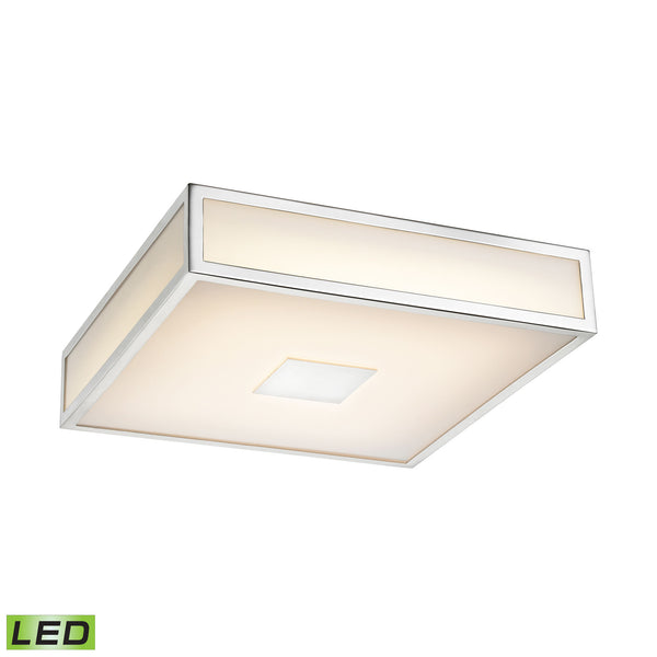 ELK Lighting  1 Light LED Ceiling Lamp in Chrome
