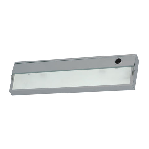 Elk ZeeLite 1 Lamp Cabinet Light In Stainless Steel And Diffused Glass Under Cabinet item number HZ109RSF