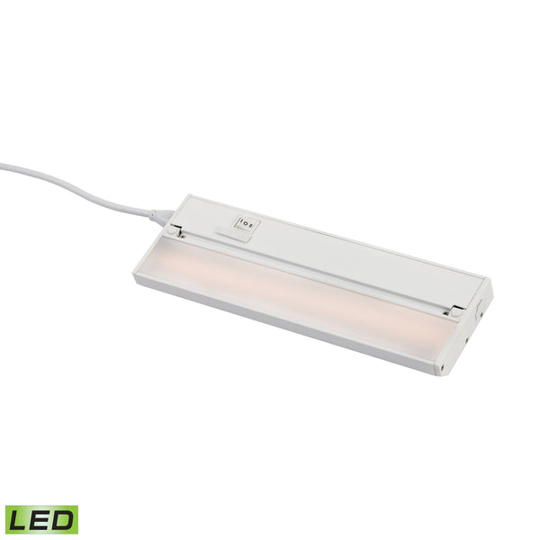 ELK Lighting  12-inch Zeeled Pro - 6W White Finish