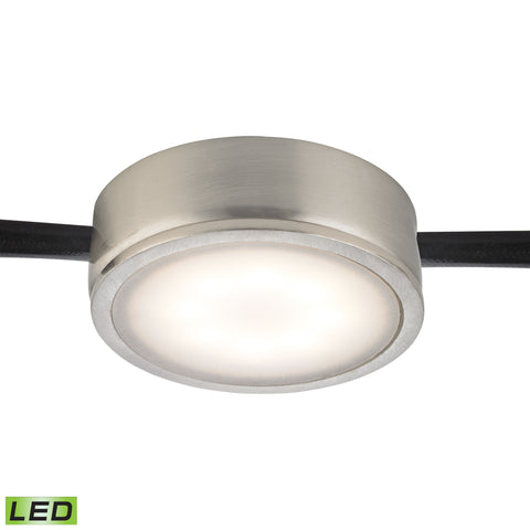 Thomas Tuxedo 1 Light LED Undercabinet Light In Satin Nickel