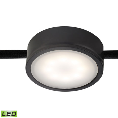 Thomas Tuxedo 1 Light LED Undercabinet Light In Black