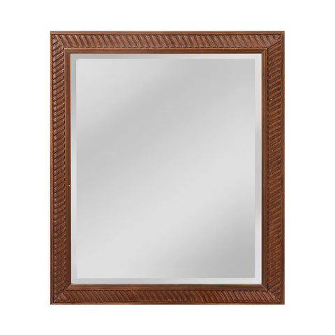 Beautiful Sterling  Angled Carved Wood Frame  in