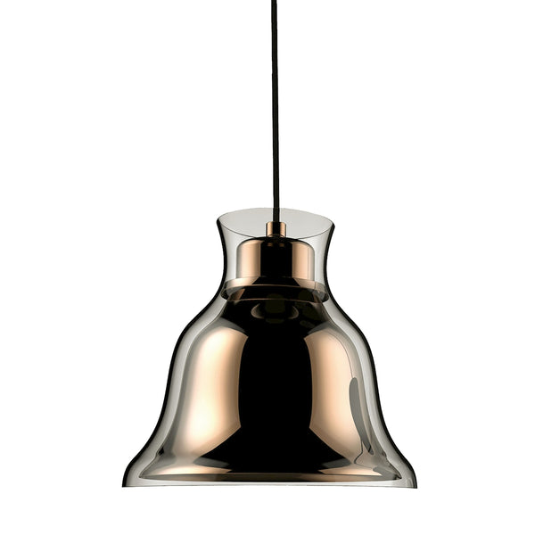 Bolero 1 Light Pendant In Gold - Includes Recessed Lighting Kit