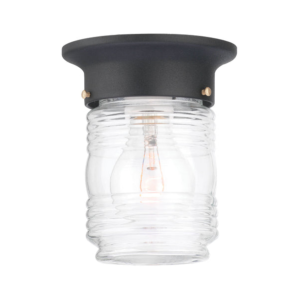 Thomas PARK AVENUE ceiling lamp Black 1x60W 120