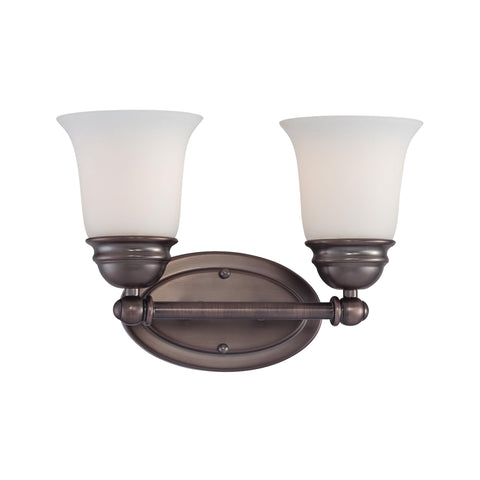 Thomas Lighting  Bella 2-Light Wall Lamp in Oiled Bronze  2 x 100W 120