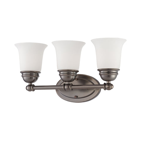 Thomas Lighting  Bella 3-Light Wall Lamp in Oiled Bronze  3 x 100W 120
