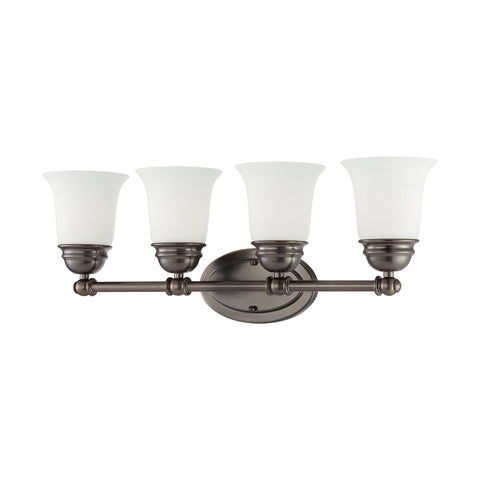 Thomas Lighting  Bella 4-Light Wall Lamp in Oiled Bronze  4 x 100W 120