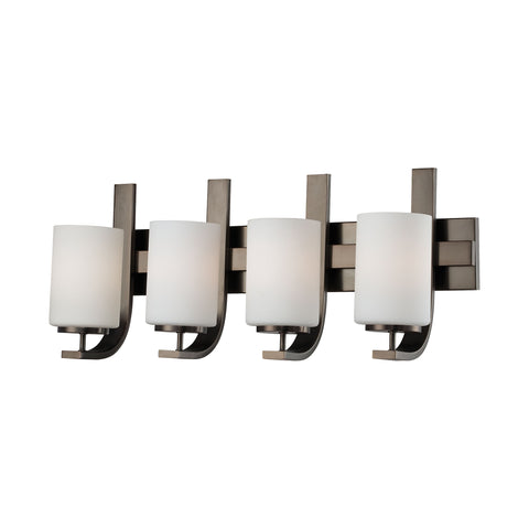 Thomas Lighting  Pendenza 4-Light Wall Lamp in Oiled Bronze  4 x 100W