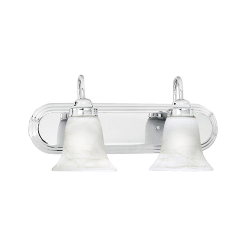 Thomas Lighting  Homestead 2-Light Wall Lamp in Chrome  2 x 100W 120