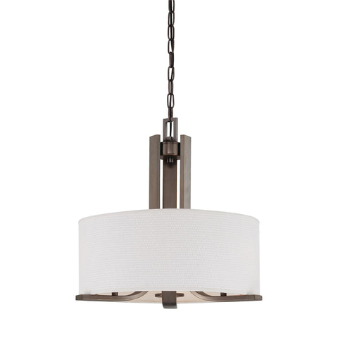 Thomas Lighting  Pendenza 3-Light Chandelier in Oiled Bronze  3 x 60W