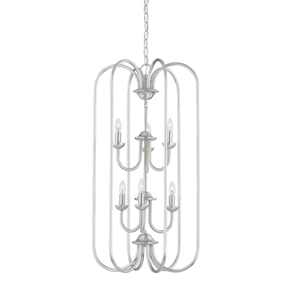 Thomas Lighting  Bella 6-Light Chandelier in Brushed Nickel  6 x 60W