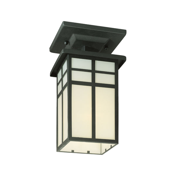 Thomas MISSION ceiling lamp Black 1x100W 120V