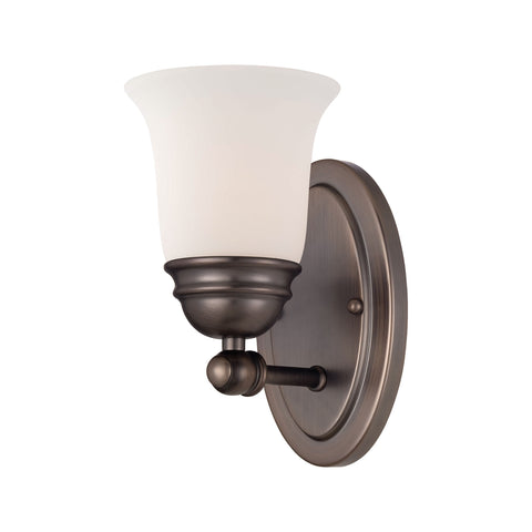 Thomas Lighting  Bella 1-Light Wall Lamp in Oiled Bronze  1 x 100W 120