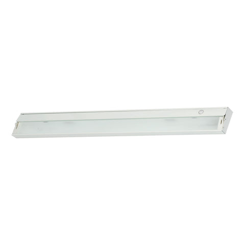 Elk ZeeLine 6 Lamp Xenon Cabinet Light In White With Diffused Glass Under Cabinet item number ZL048RSF