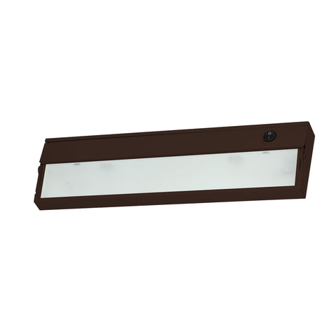 Elk ZeeLine 1 Lamp Xenon Cabinet Light In Bronze With Diffused Glass Under Cabinet item number ZL309RSF