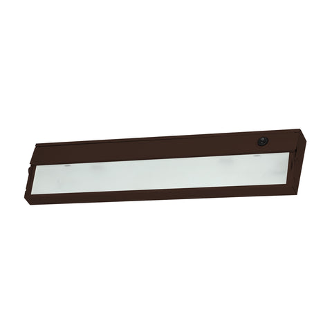 Elk ZeeLine 2 Lamp Xenon Cabinet Light In Bronze With Diffused Glass Under Cabinet item number ZL317RSF